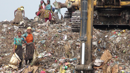 dhaka waste pickers