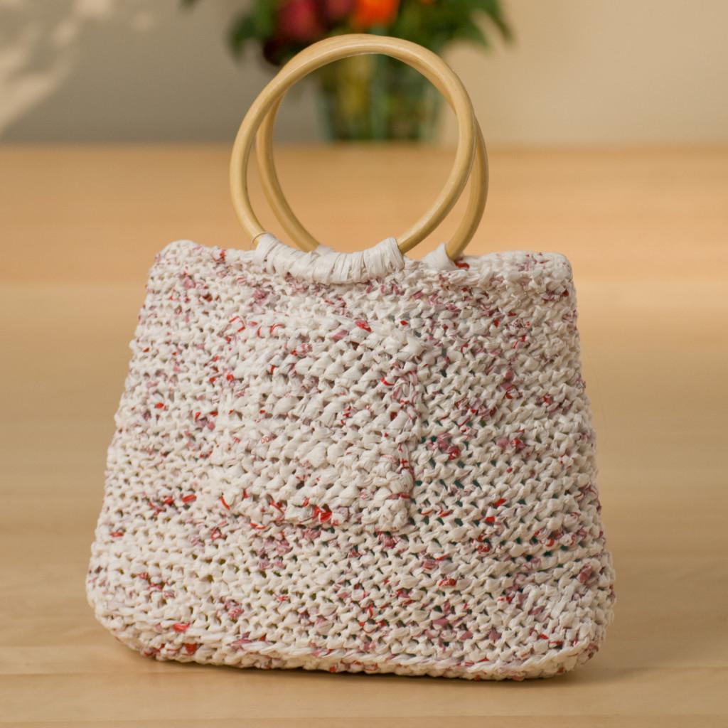 designer plarn bag