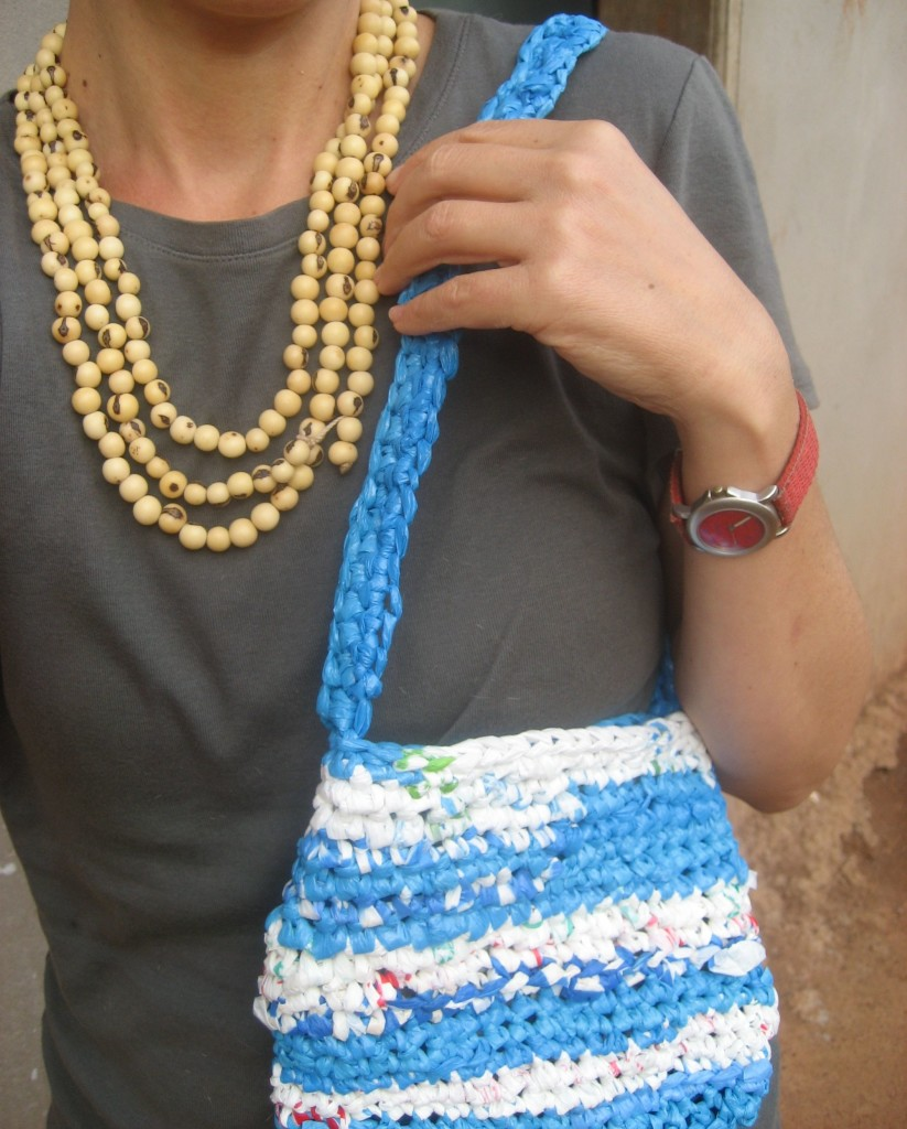Plarn Bags And Purses Made From Recycled Plastic Bags