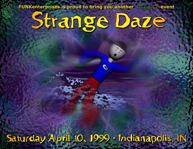 Strange Daze Front